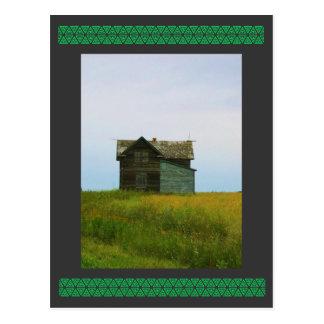 Old Homestead Saskatchewan Photograph Postcard