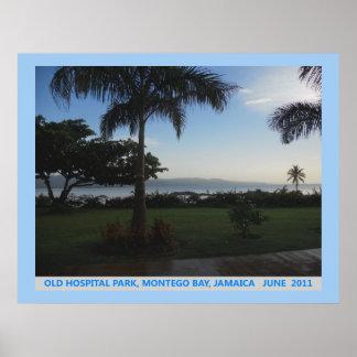 Old Hospital Park, Montego Bay, Jamaica Canvas Pri Poster