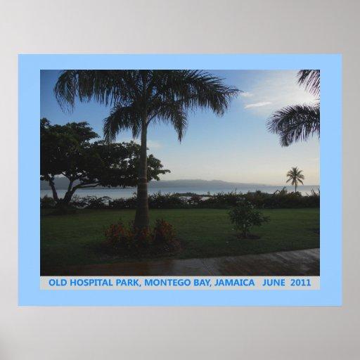 Old Hospital Park Montego Bay Jamaica Canvas Print