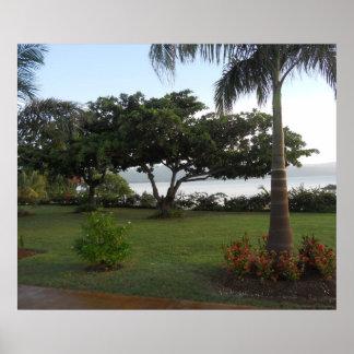 Old Hospital Park Montego Bay Jamaica Poster
