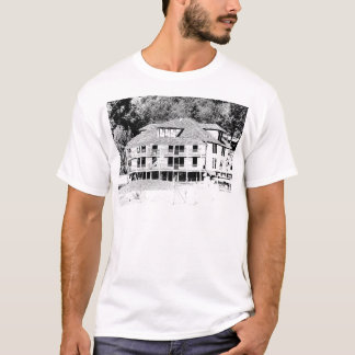 Old Hotel in the Mountains Sketch T-Shirt