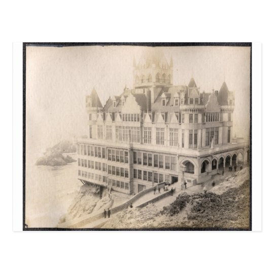 Old Hotel, Long Gone Postcard