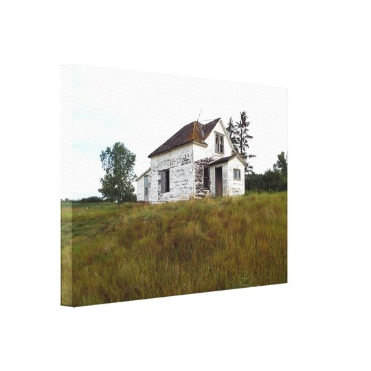 Old House Canvas