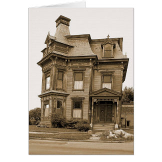 Old House - Plattsburgh Card