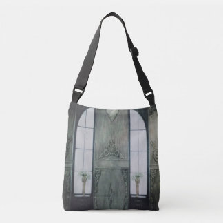 Old House Window Crossbody Bag