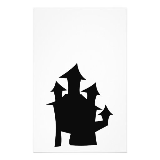 Old House with Towers. Custom Flyer