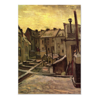 Old Houses by Vincent van Gogh, Change of Address Card
