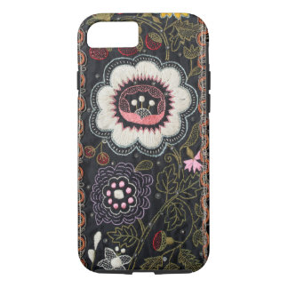 Old Hungarian Embroidery on Black Case-Mate iPhone Case