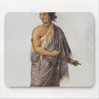 Old Indian Man Mousepad