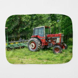 Old International Tractor Burp Cloth