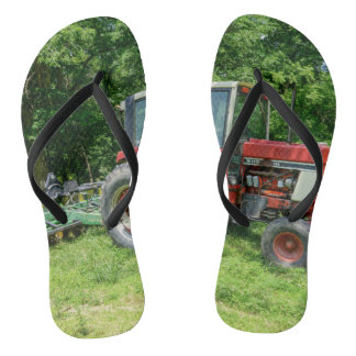 Old International Tractor Flip Flops