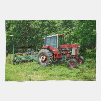 Old International Tractor Kitchen Towel