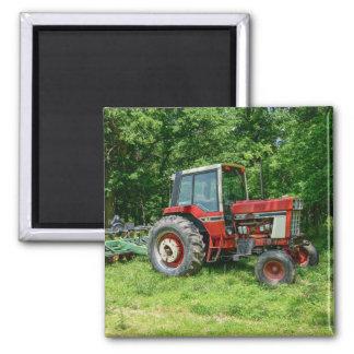 Old International Tractor Magnet