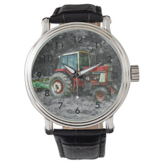 Old International Tractor Painterly Watch