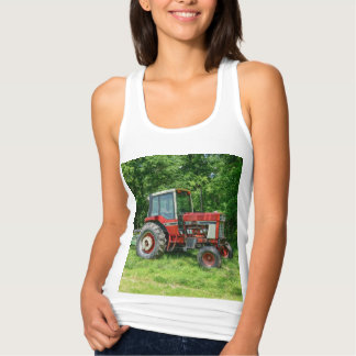 Old International Tractor Tank Top