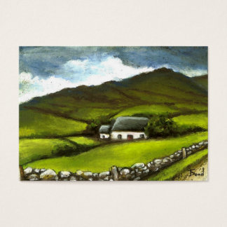 Old Irish cottage Business Card