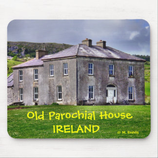 Old Irish Parochial House Mousepad