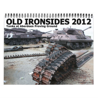 Old Ironsides 2012 Wall Calendar
