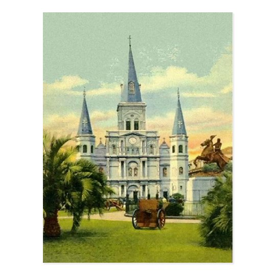 Old Jackson Square Postcard
