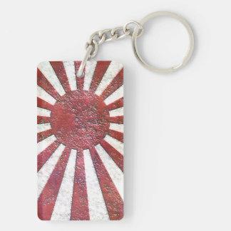 Old Japan Imperial Double-Sided Rectangular Acrylic Keychain