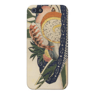 Old Japanese Sushi Painting Case For The iPhone 5