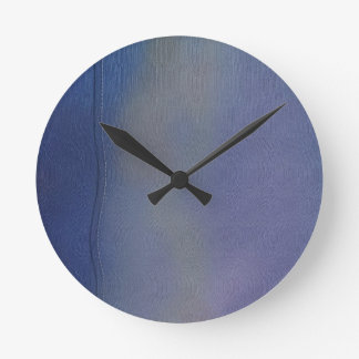 Old Jeans Round Clock