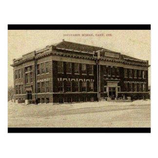 Old JEFFERSON SCHOOL 1910 Postcard