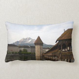 Old Kappelbrücke Lucerne cushion