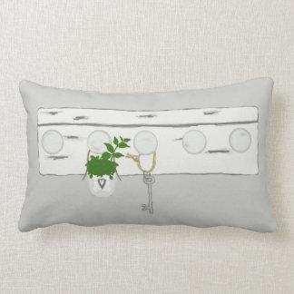 Old key Lumbar Pillow
