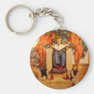 Old King Cole Keychain