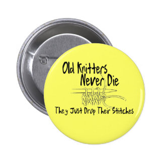 Old Knitters Pins