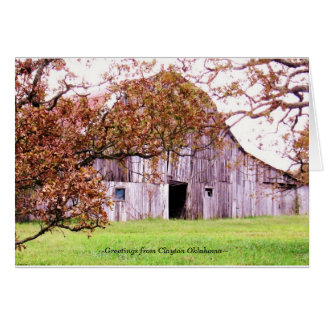~Old Knolls barn~ Card