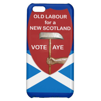 Old Labour Scottish Independence iPhone Case iPhone 5C Cases