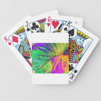 old leaf two bicycle playing cards