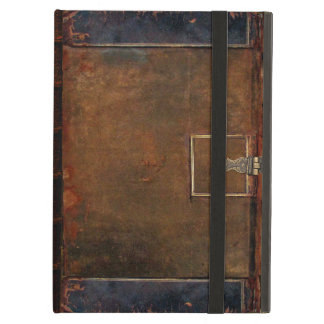 Old Leather Book Cover iPad Air Cover