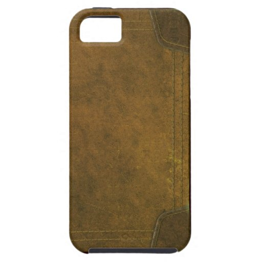 Old Leather Book Iphone Cover : Old leather book cover iphone zazzle