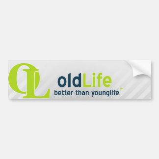 Old Life Bumper Sticker