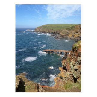 Old Lifeboat Ramp, Lizard Peninsula, Cornwall Postcard
