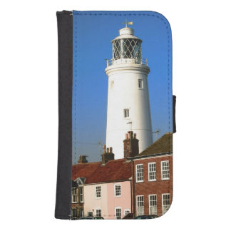 old lighthouse georgian houses seside town photo phone wallet case