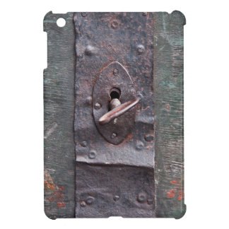 Old lock with key cover for the iPad mini