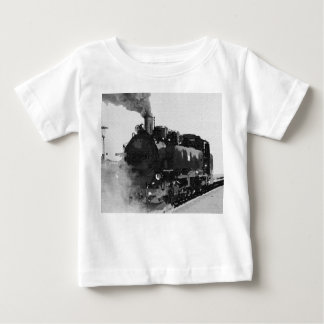 Old locomotive t-shirt (Baby Fine Jersey T-Shirt)