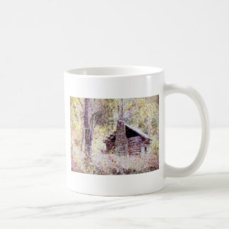 Old Log Cabin Coffee Mug