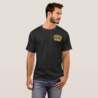Old Log Cabin Whiskey Vintage Label T-Shirt