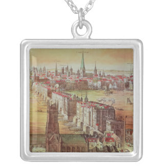 Old London Bridge Silver Plated Necklace