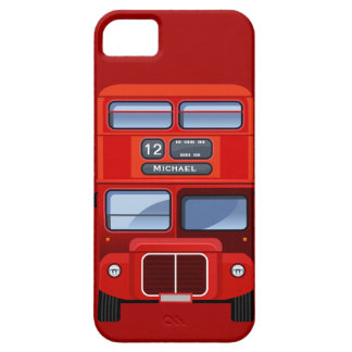Old London Red Double Decker Bus iPhone 5 Cover