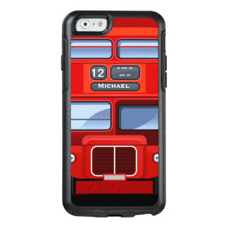 Old London Red Double Decker Bus OtterBox iPhone 6/6s Case