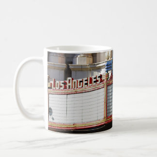 Old Los Angeles Theater Marquee Photo Mug