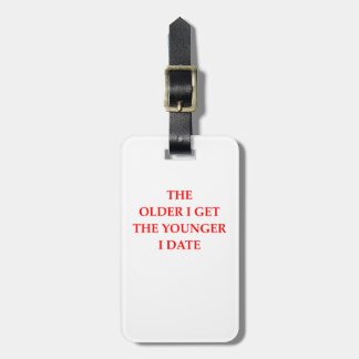 old luggage tag