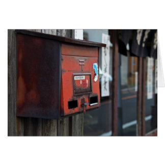 Old Mailbox Card