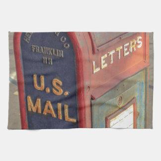 Old Mailbox Kitchen Towel